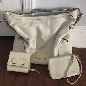 Michael Kors set Kate spade wallet Coach wristlet